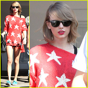 Taylor Swift Sees Stars After Friday Workout