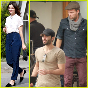 Tyler Hoechlin Lunches with J.R. Bourne, Crystal Reed Hits the Salon