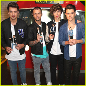 Union J: Doll Launch at Hamley's Toy Store
