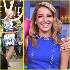 Vanessa Lengies: 'Mixology' Promo at 'The View' & 'GMA'