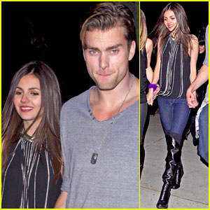 Victoria Justice Celebrates Turning 21 with Boyfriend Pierson Fode