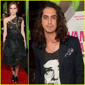Zoey Deutch & Avan Jogia: 'Vampire Academy' Premiere Couple