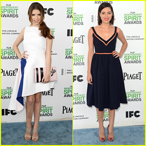 Anna Kendrick & Aubrey Plaza: Film Independent Spirit Awards 2014