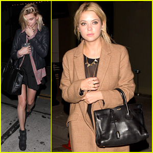 Ashley Benson Grabs Dinner at Craig's with Hailey Baldwin!