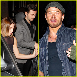 Ashley Greene & Paul Khoury Celebrate with Kellan Lutz!