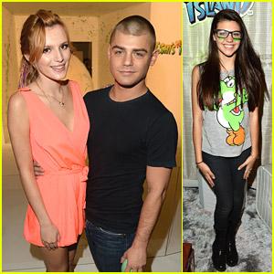 Bella Thorne & Garrett Clayton: Yoshi's Celebrity Egg Decorating Party!
