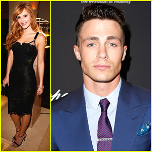 Bella Thorne & Colton Haynes: Weinstein Company Pre-Oscars Party Pics!