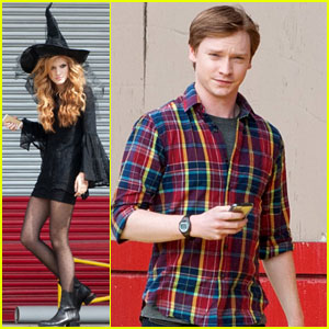 Bella Thorne Gets Witchy On Set!