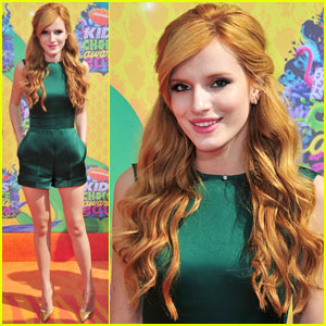 Bella Thorne is All About the Jewels at the Kids' Choice Awards 2014!