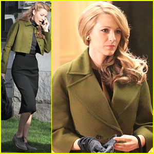 Blake Lively: 'Age of Adaline' Night Shoot After Vancouver Art Gallery Scenes