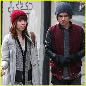 Carly Rae Jepsen: NYC Lunch with Band Mate Tavish Crowe