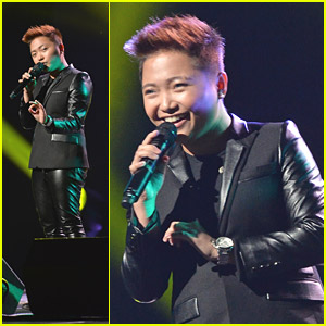 Charice Performs 'At Last' & 'Louder' at Pinoy Relief Concert