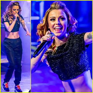 Cher Lloyd Takes 'Sorry I'm Late' Tour to Detroit!