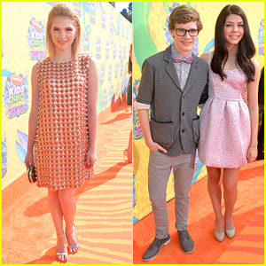 Claudia Lee 'Survived' The Kids' Choice Awards 2014 with Kendall Ryan Sanders & Bryce Hitchcock