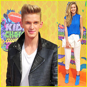 Cody Simpson & Girlfriend Gigi Hadid Hit Orange Carpet Separately at Kids' Choice Awards 2014!