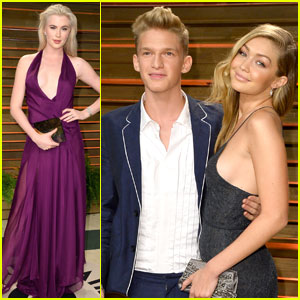 Cody Simpson & Gigi Hadid: Vanity Fair Oscars Party with Ireland Baldwin!