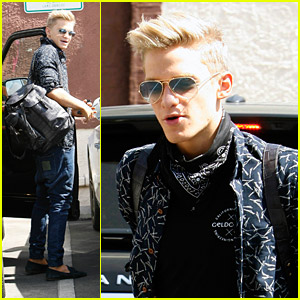 Cody Simpson: Tuesday Tango Lessons for DWTS
