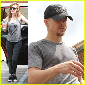 Derek Hough Boasts Swing with Amy Purdy for 'DWTS': 'We're Doing Lifts'!