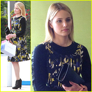 Dianna Agron Goes Wild for Ron Robinson