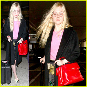 Elle Fanning Never Gets Rid of Her Clothes