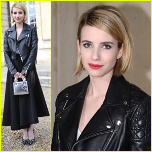 Emma Roberts: 'Christian Dior' Darling in Paris