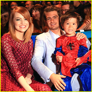 Emma Stone & Andrew Garfield: Huge 'Amazing Spider-Man 2' Fan Event in Singapore!