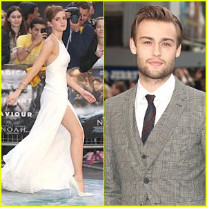 Emma Watson's Leg Takes Center Stage at 'Noah' London Premiere