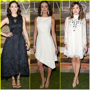 Emmy Rossum & Camilla Belle: H&M Conscious Collection Dinner with Sophia Bush