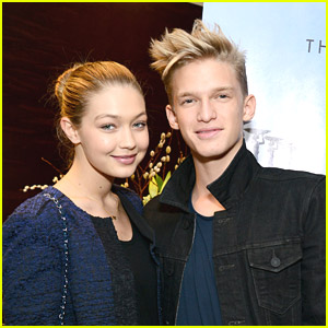 Cody Simpson & Gigi Hadid Reunited at Pre-Academy Awards Style Lounge