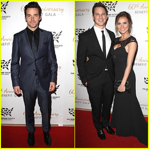 Hot Guys at Humane Society Gala -- See Ian Harding, Nathaniel Buzolic & Matt Lanter All Suited Up!