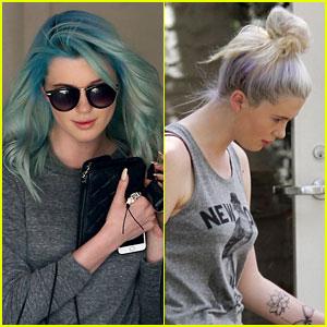 Ireland Baldwin Has Blue Hair Now!