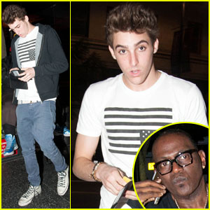 Jackson Guthy Dines at Katsuya with Randy Jackson