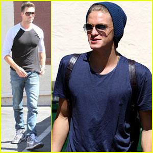 James Maslow & Cody Simpson Kick Off the Week with 'DWTS' Practice