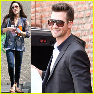 James Maslow Joins Meryl Davis & Charlie White for 'DWTS' Practice