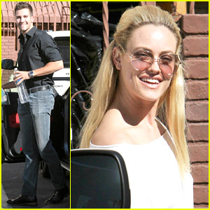 James Maslow & Peta Murgatroyd: Fan Friendly Before 'DWTS' Practice