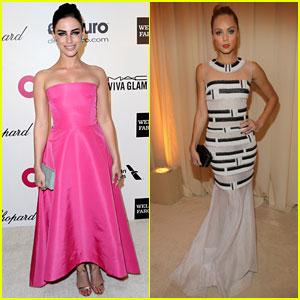 Jessica Lowndes & Laura Vandervoort: EJAF Oscars Party 2014