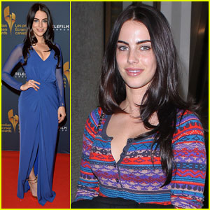 Jessica Lowndes Returns to L.A. After Canadian Screen Awards 2014