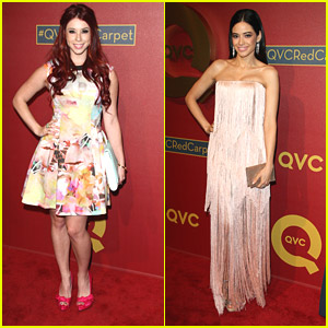 Jillian Rose Reed & Edy Ganem: QVC Red Carpet Style Party Pair