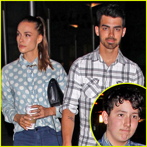 Joe Jonas Hits the Movies with Brother Frankie & Girlfriend Blanda Eggenschwiler