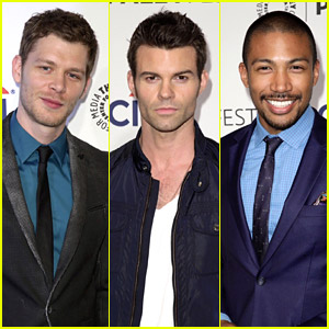 Joseph Morgan: 'Originals' at PaleyFest 2014 with Daniel Gillies & Charles Michael Davis