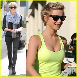 Julianne Hough Dotes on Nephews After Early Morning Workout