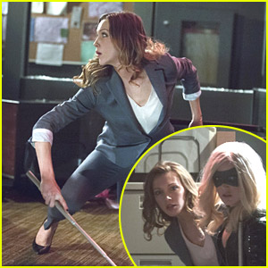 Laurel Gets Kidnapped By The Huntress in 'Arrow' Tonight!