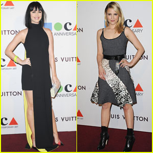 Katy Perry & Dianna Agron Rock the Red Carpet at MOCA's 35th Anniversary Gala!