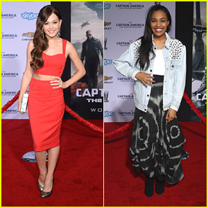 Kelli Berglund: 'Captain America: The Winter Solider' Premiere with China Anne McClain!