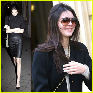 Kendall Jenner: Caviar Kaspia Dinner After Pharmacy Stop