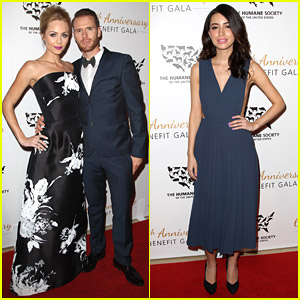 Laura Vandervoort & Christian Serratos Go Glam For Humane Society 60th Anniversary Gala