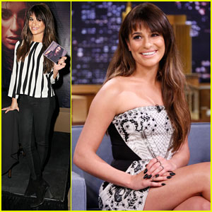 Lea Michele Promotes Debut Album 'Louder' on 'The Tonight Show'
