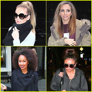 Little Mix Hit 'Letterman' Rehearsals Before 'Move' Performance - Watch Now!