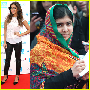 Shay Mitchell: In Awe & Inspired by Malala Yousafzai at We Day UK
