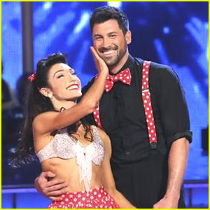 Meryl Davis & Maksim Chmerkovskiy: See Pics From Their Swing Dance on DWTS